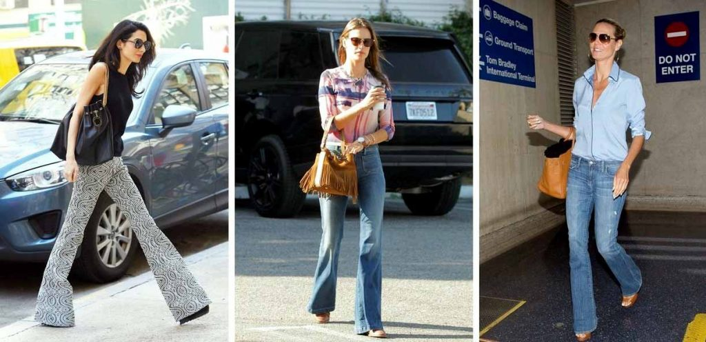 Flared jeans Fashion