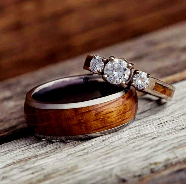 Wooden wedding rings Fashion days | fashion days