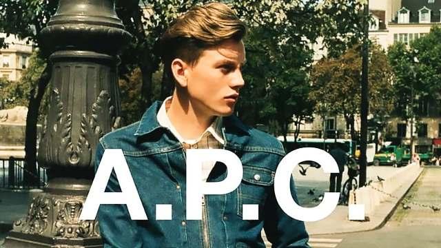 APC best jeans brand men