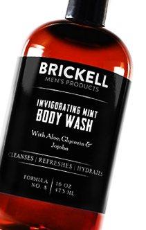 best body washes-Brickell Men's invigorating mint body wash