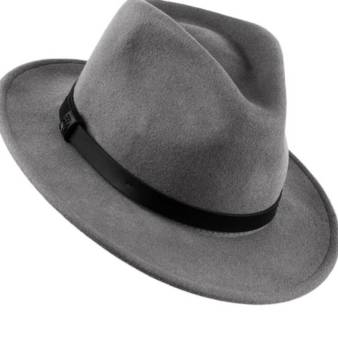 Brixton Men's Messer Fedora Hat -hats and caps styles