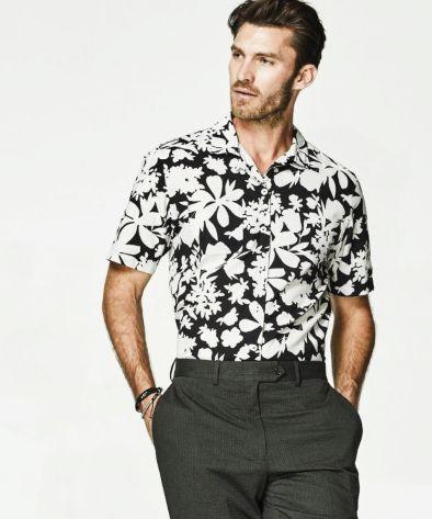 Cuban collar shirts - men fashion week.