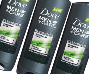 Dove men+ care elements body wash