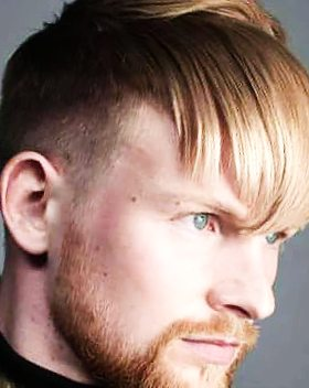 Mid fade with fringe