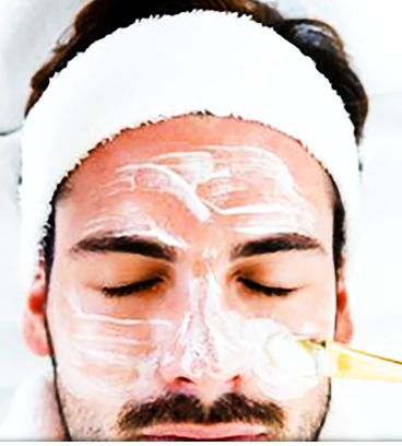 Professional treatment and chemical peels.
