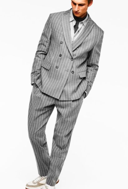 Relaxed suiting -men fashion week