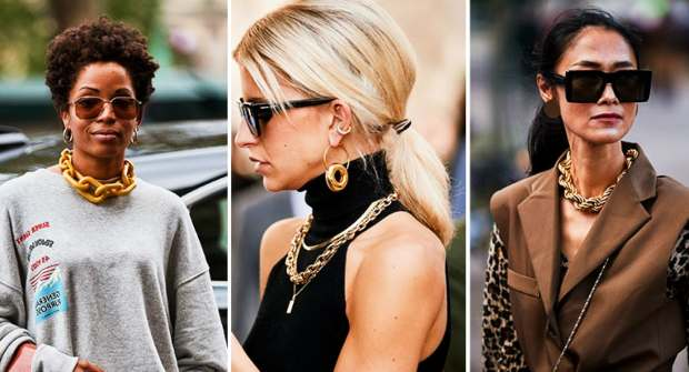 Statement Large Chain Necklaces ACCESSORIES FOR WOMEN TRENDS
