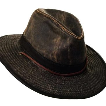 Weathered Outback Cowboy Hat for Men