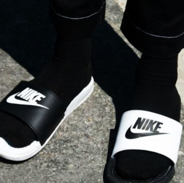 two-strap slides -men fashion week