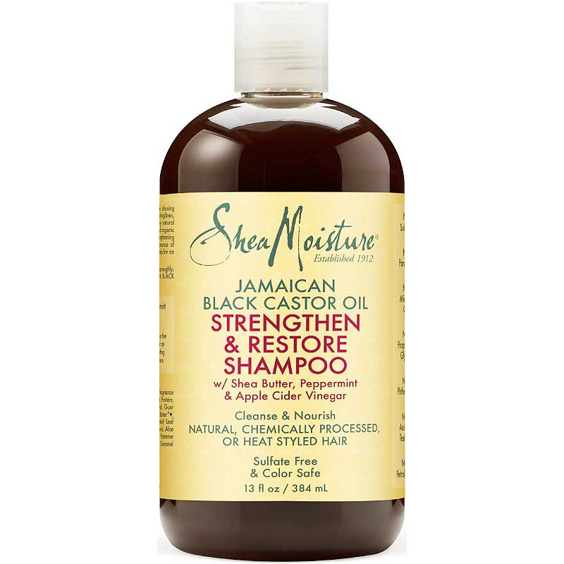 SheaMoisture Jamaican Black Castor Oil Strengthen & Restore for Damaged Hair Shampoo shampoo