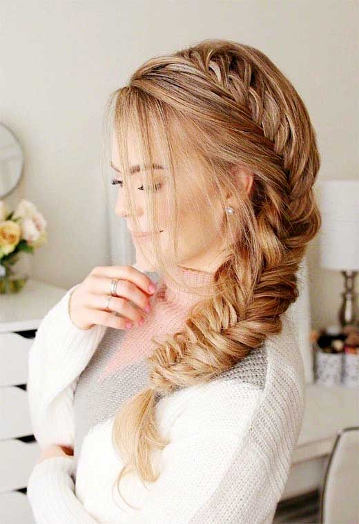 Fishtail Braid for girls