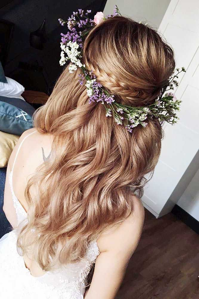 Flower Crown hairstyle for girls